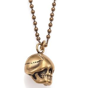 Givenchy Blind Skull Necklace